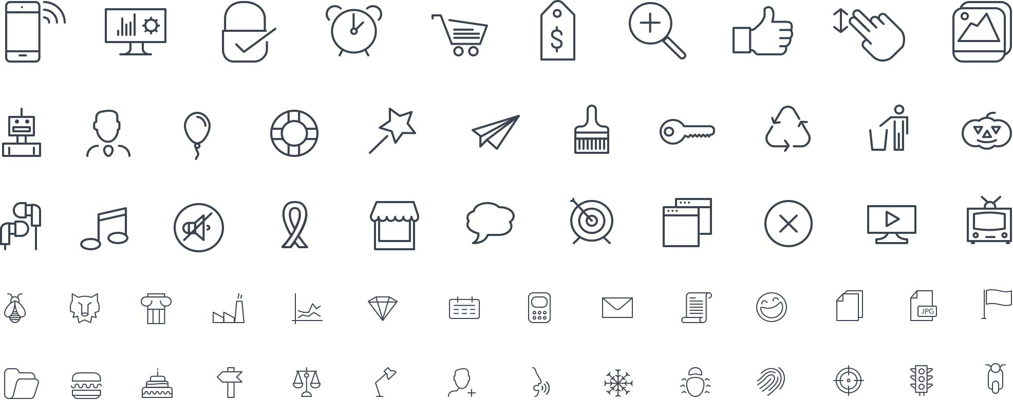 View All Icons